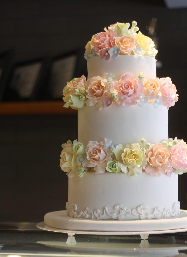 wedding cake raleigh